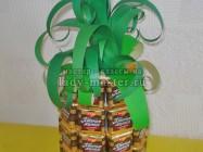 Букет из конфет «Сладкий ананас»