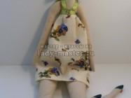 Кукла тильда «Девочка в сарафане»