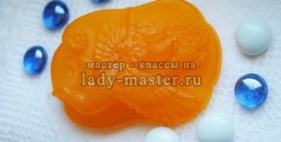 Апельсиновое мыло в домашних условиях