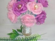 Сладкий букет из роз
