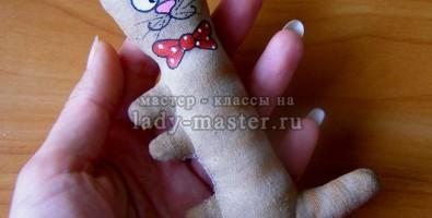 Мастер – класс «Кофейный котик» своими руками