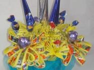 Букет из конфет для праздника