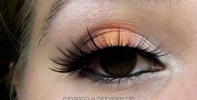 Как сделать модный оранжевый вечерний макияж