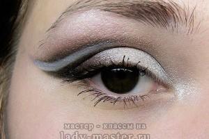 Вечерний макияж для карих глаз на выпускной или вечеринку
