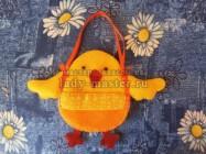 Шьем детскую сумочку «Цыпленок» для Светлой Пасхи