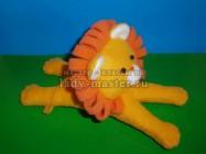 Мягкая игрушка «Лев» своими руками