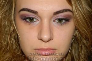 Макияж глаз «Розовая нимфа»