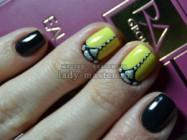 Дизайн ногтей с объемными элементами
