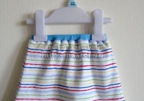 Как сшить трикотажную юбку для девочки