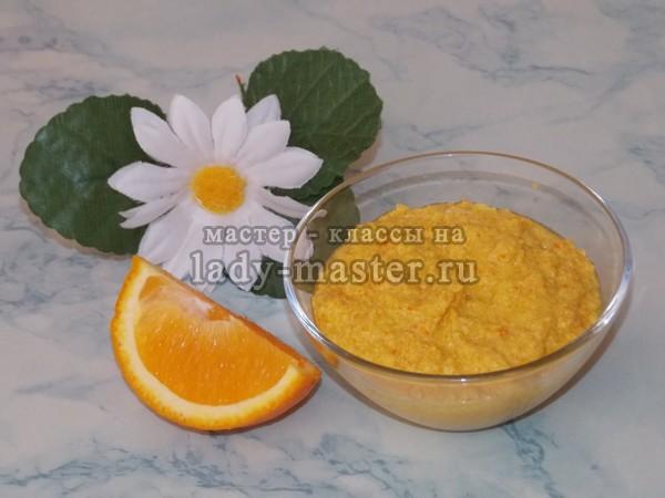 Рецепт апельсинового скраба для тела