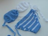 Пошаговая инструкция по вязанию крючком женского купальника