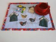 Как сшить салфетку для кухни из остатков ткани