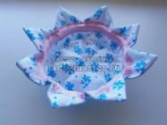 Текстильная вазочка для конфет
