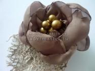 Ретро цветочек-украшение в волосы