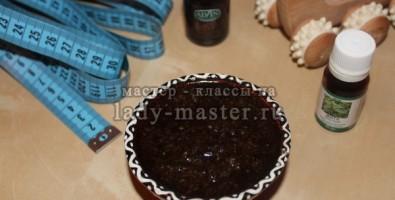 Натуральный кофейно-солевой скраб для тела — гладкая, ровная кожа без целлюлита