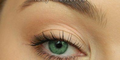 Быстрый дневной макияж глаз