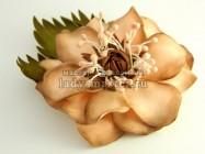 Как сделать цветок в стиле ретро из фоамирана