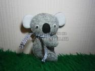 Игрушка из фетра «Маленькая коала»