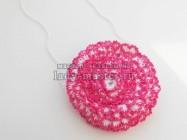 Беретка и шарф для девочки крючком