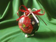 Новогодний шар-шкатулка своими руками