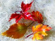 как сделать осенние листья из фоамирана — 4 мастер — класса