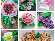 Лепка цветов из полимерной глины — пошаговые мастер — классы с фото для начинающих