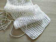 Легкий ажурный шарф спицами